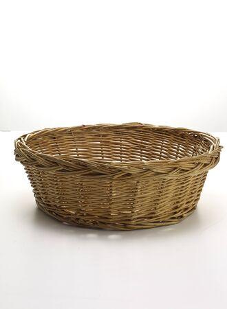 interleaved: wicker basket