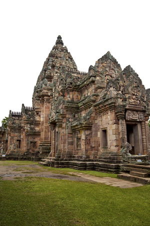 the historical: Prasat Phanomrung Historical Park .Thailand