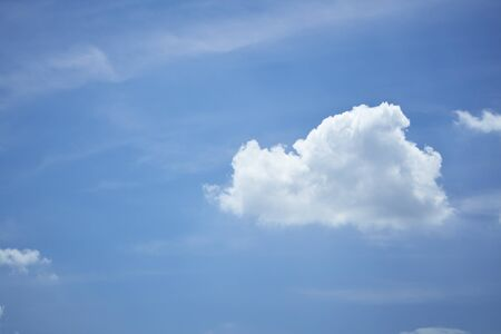 sky with clouds: sky, clouds Stock Photo