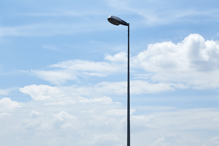 lamp post: street light Stock Photo