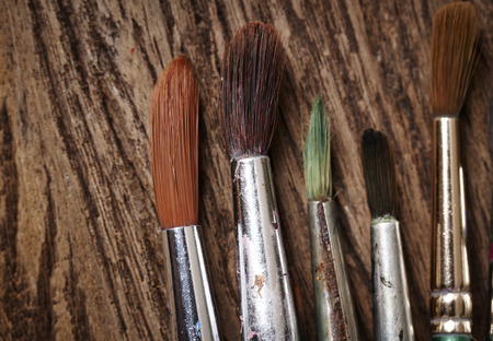 used: Paint brushes used