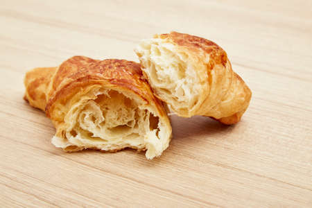 french food: croissant