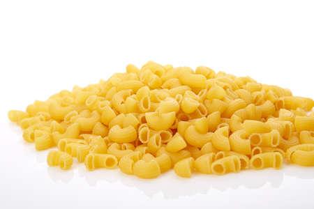 pasta isolated: gomiti pasta isolated
