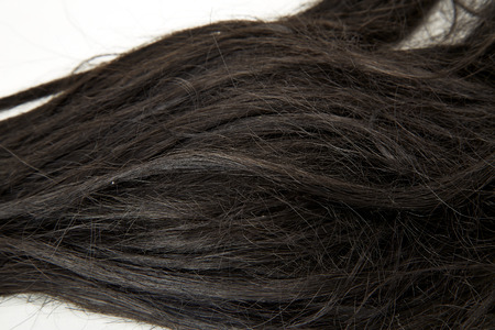 Black hair, bad. Background Archivio Fotografico