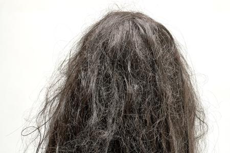 capelli lisci: capelli danneggiati