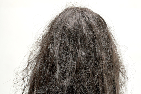 damaged hair Imagens - 48120584