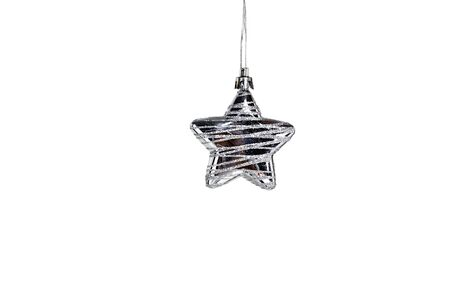 silver star: silver Star isolated on white