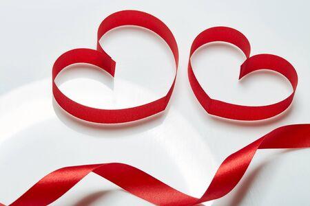 Love, red Ribbon