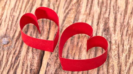 ribbon heart: Red Ribbon Heart