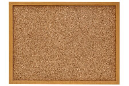 corkboard, bulletin board with a wooden frame
