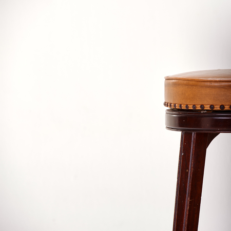 bar stool: Bar stool isolated on white background