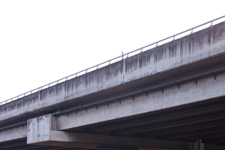 viaduct: Freeway overpass, viaduct in Thailand