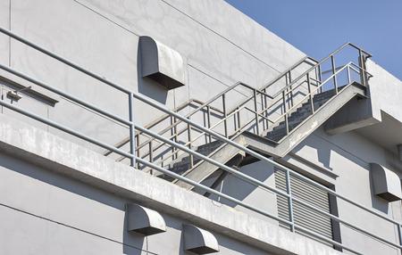 Industrial stairway 写真素材