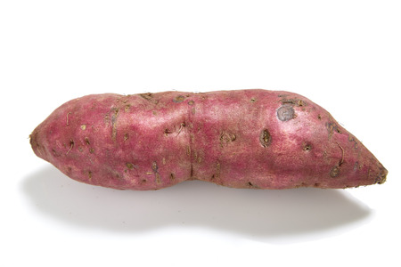 jhy: sweet potato on the white background