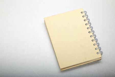 aluminum texture: Brown note book, Aluminum texture background