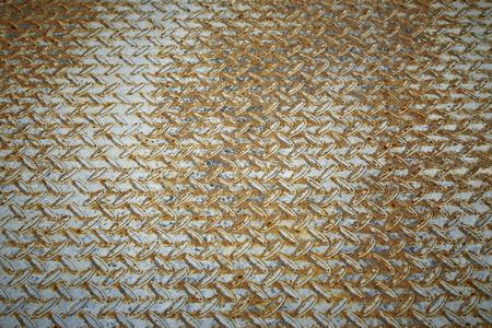 aluminum: Rust metal diamond plate