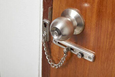 key hole shape: wooden door locks for security