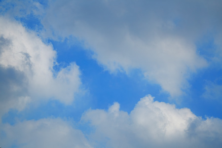 possibly: clouds in the sky Indicates that the rain is going to fall and possibly a storm
