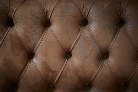 Old brown leather Texture Office Building Sofa backrest