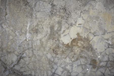 Antiguo muro gris Broke textura de hormigón de fondo Foto de archivo - 79071634
