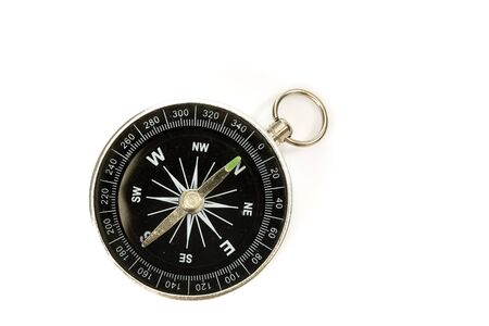 compass to determine the path and navigation