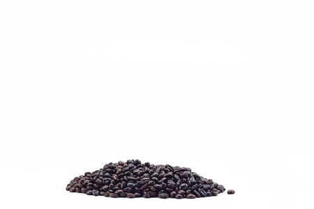 Coffee Beans on white background area for copy space. 版權商用圖片