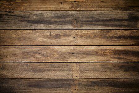 chiudere il fondo di struttura della plancia di legno vintage per il design