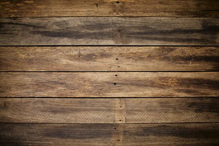 close up vintage wood plank texture background for design