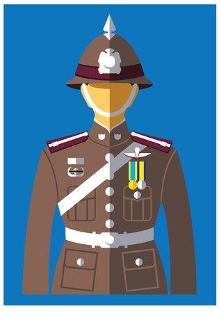 A kind of Police uniform