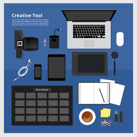 creative: Creative Tool Illustration
