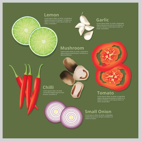 ingredient: Illustration Ingredient Food, Raw Food, Material Food