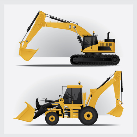 earthmover: Construction Vehicles Illustration