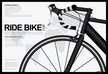 Cycling Poster Design Template Vector Illustration Illustration