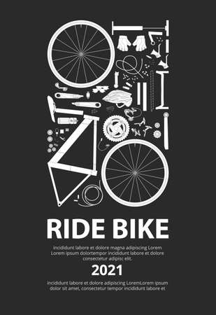Cycling Poster Vector Illustration 向量圖像