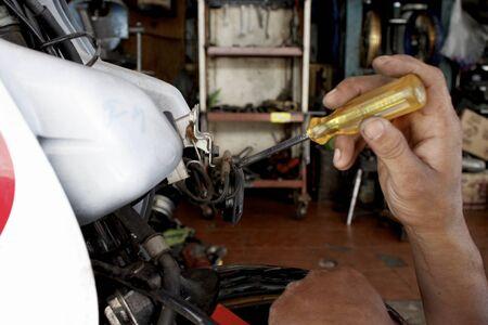 scored: Motorcycle mechanic