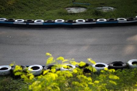 racetrack: racetrack Stock Photo