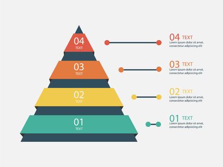 Marketing Pyramid Infographic