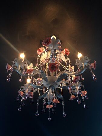 chandelier on the ceiling Stock Photo - 22879334