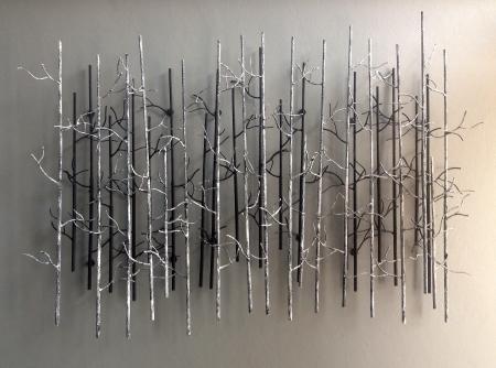 Trädgren abstrakt för dekoration vägg Stockfoto