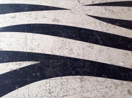 print: zebra pattern floor texture Stock Photo