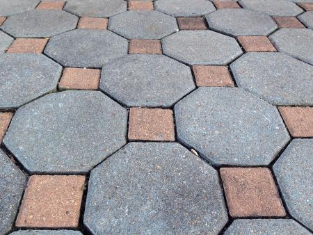 interlocked: texture floor Stock Photo