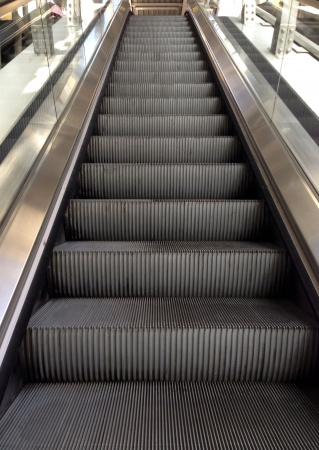 Escalator Stockfoto