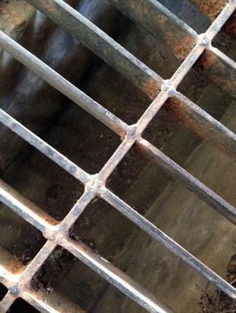 shiny metal: metal striped background Stock Photo