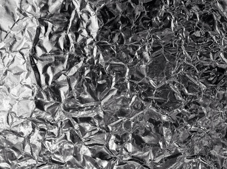 shiny metal: Aluminum foil texture background