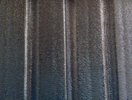 shiny metal: Insulation texture background Stock Photo