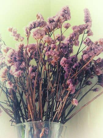 valentinas: bouquet of flowers in transparent vase