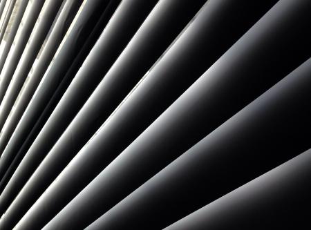 Metall Persienner med dragsko Roller Shutter Bakgrund Stockfoto