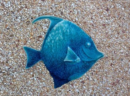 fish texture on the floor