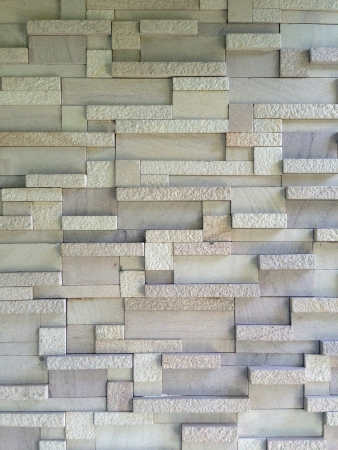 detail: Background of stone wall made with blocks