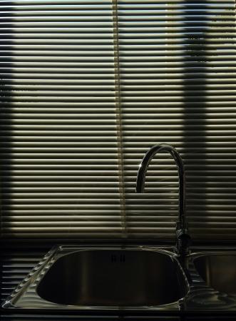 shiny metal: New kitchen sink
